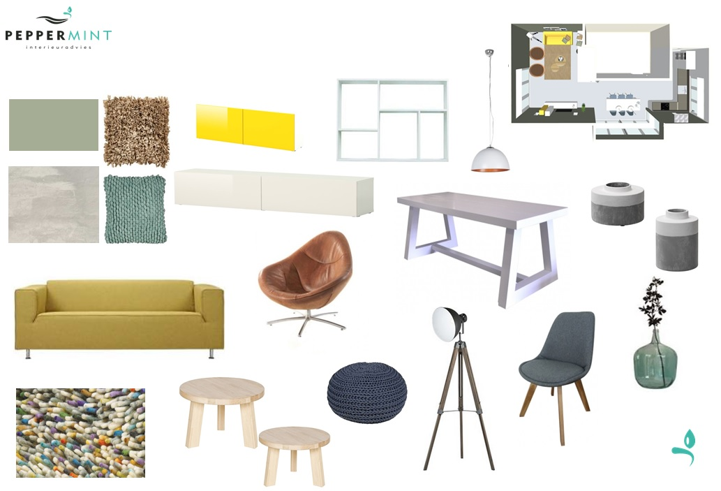 Werkwijze peppermint interieuradvies - Interieurontwerp thuis kleur ...