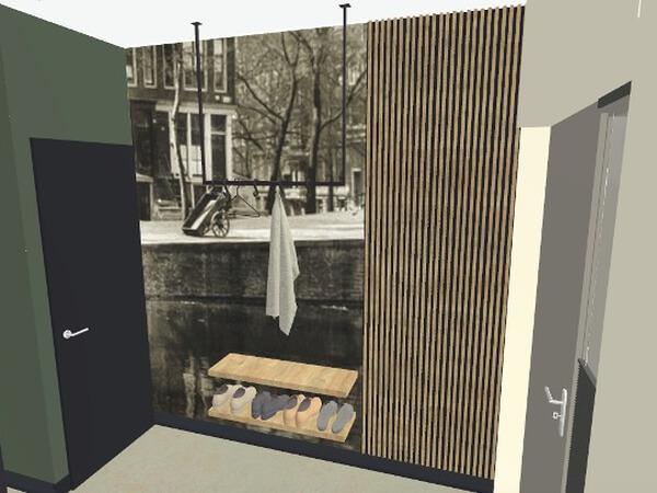 interieurontwerp hal loft Zutphen