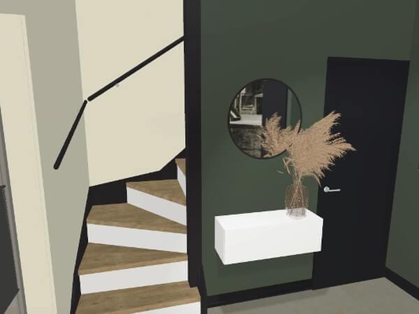 interieuradvies entree loft Zutphen