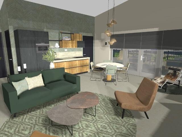 Interieurontwerp loft Zutphen
